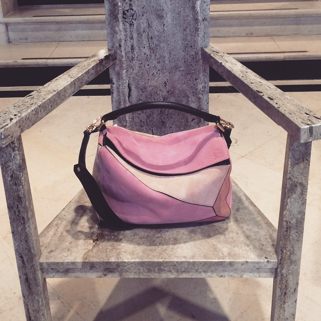 King of the bags this #pfw @loewe #luxury #concretefeminism