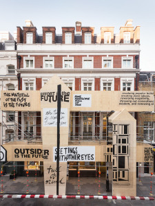 Dover Street Market, London 10th anniversary facade