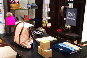 Zady pop-up shop