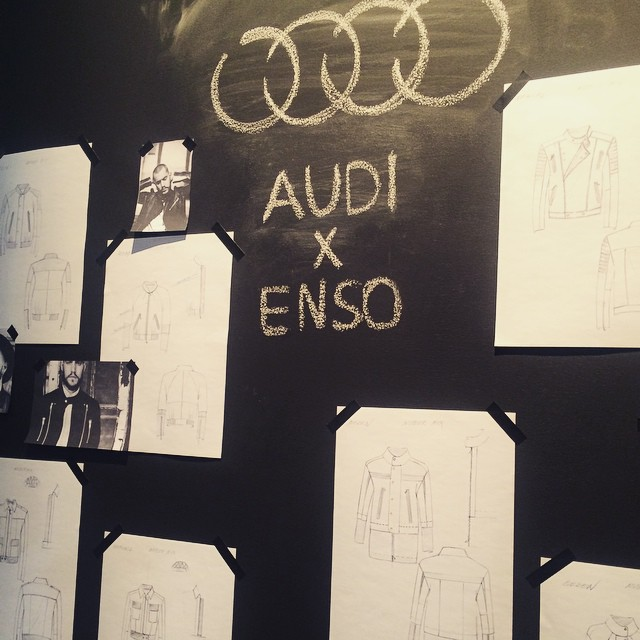 Creative design studio pop-up space by @audi @Seek_Berlin 'targeting the…