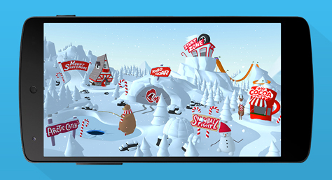 Target's Bullseye mobile gaming Holiday campaign in-store