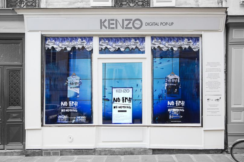 Kenzo No Fish No Nothing store front