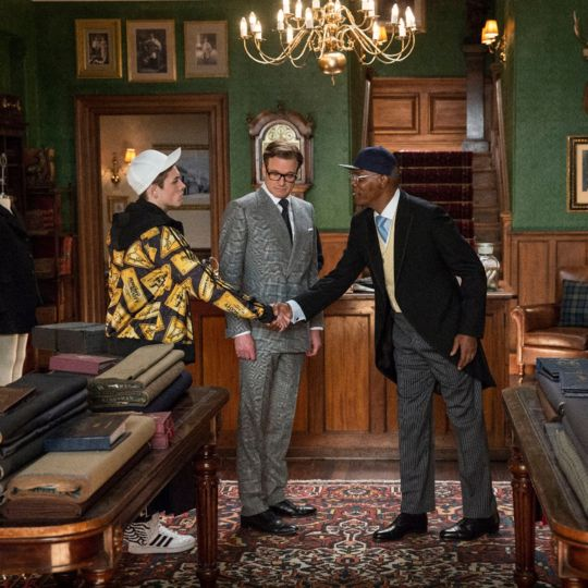 Kingsman: The Secret Service - key looks in the film