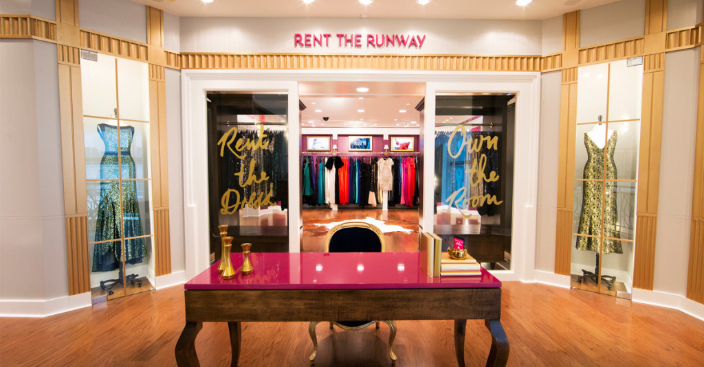 Rent the Runway New York store