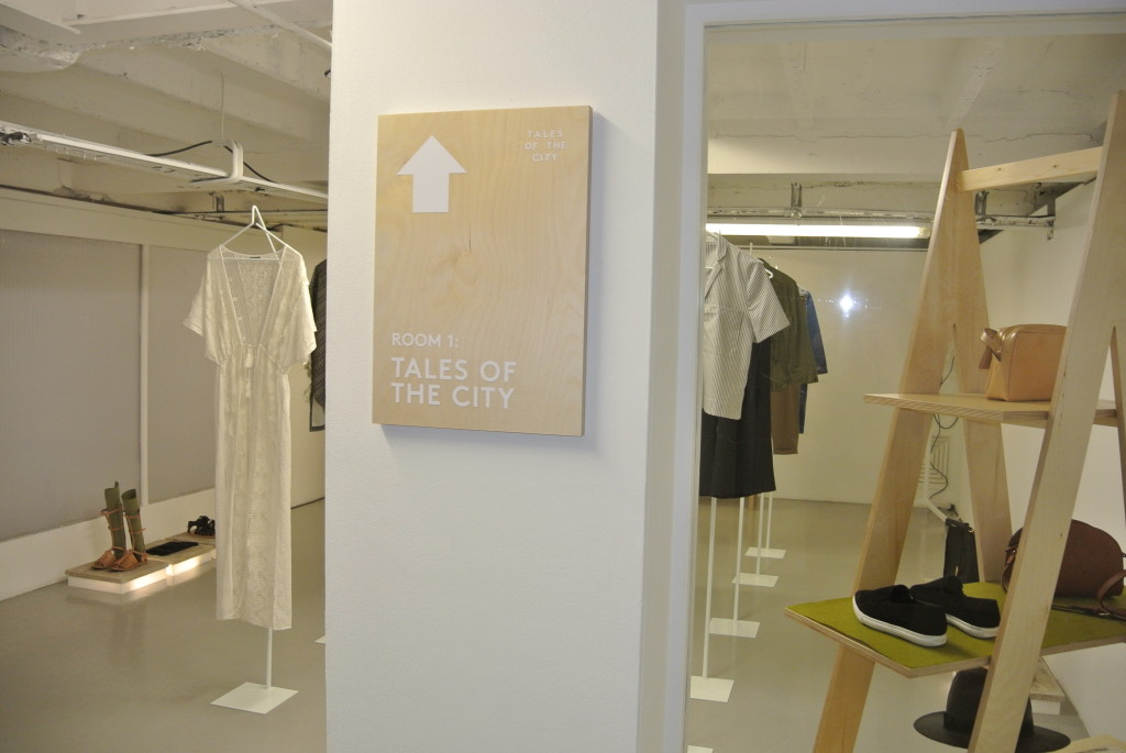 Warehouse SS15 press day #TalesoftheCity