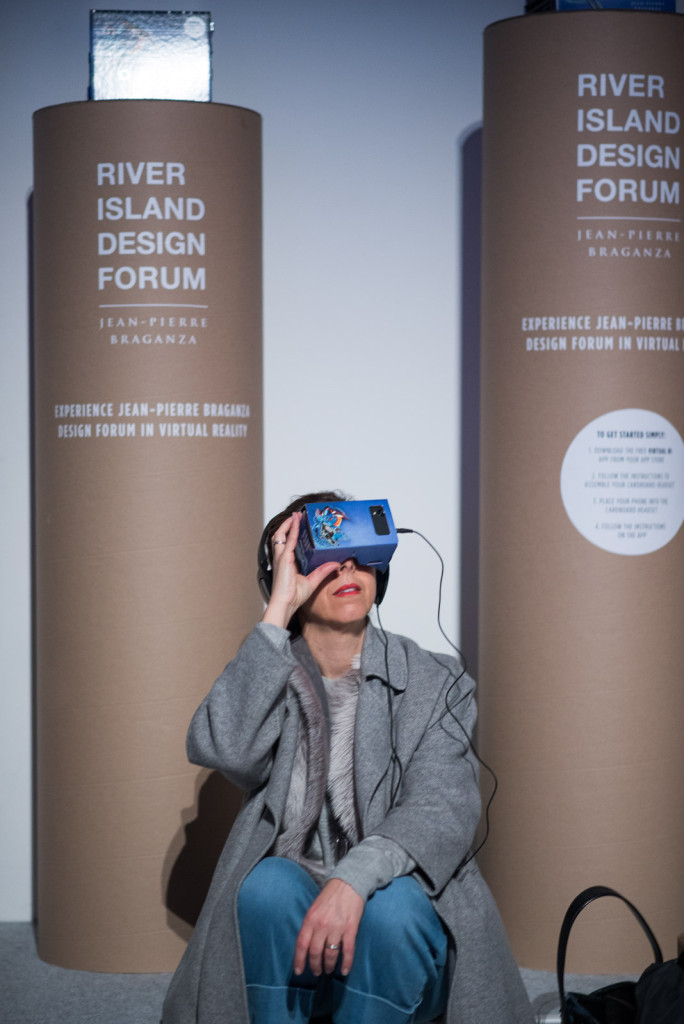 River Island Design Forum x Google Cardboard