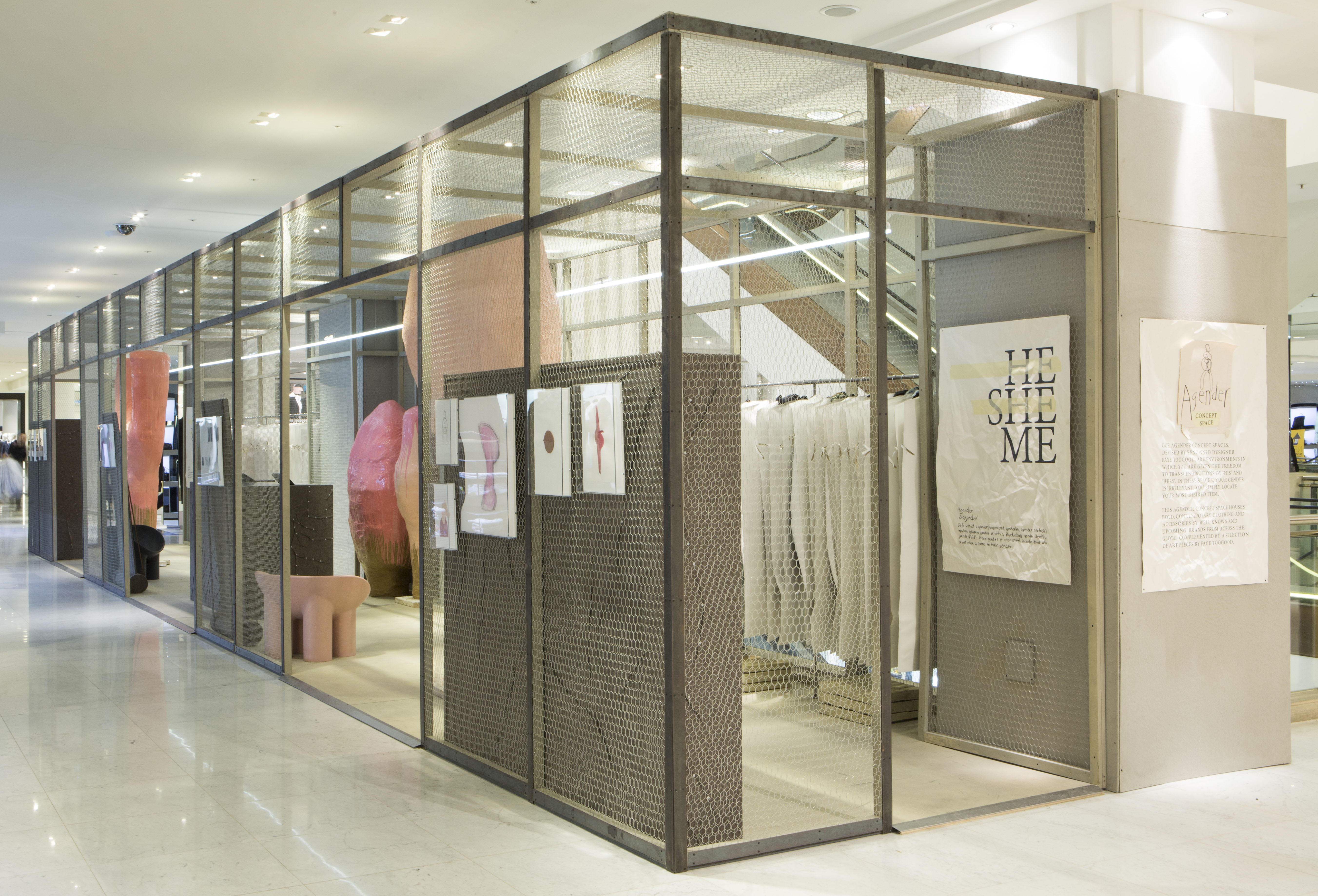 The retail plannerselfridges archives the retail planner agender by studio toogood at selfridges amipublicfo Images