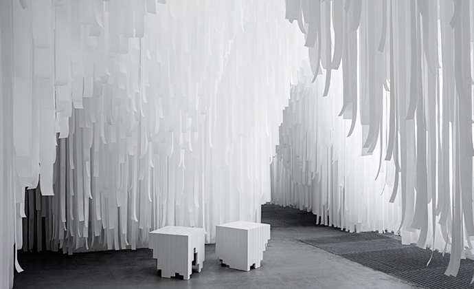 COS x Snarkitecture, Salone del Mobile, Milan 2015