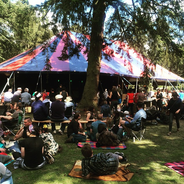 Festival season has kicked off here at #RedRooster in Suffolk…