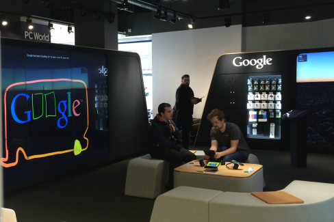 Google Shop at Dixons Carphone Warehouse